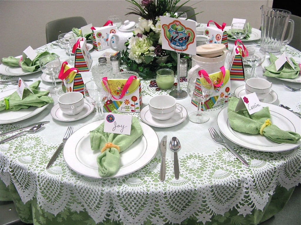 Table Decorations For Tea Party Collection Christmas Tea ...