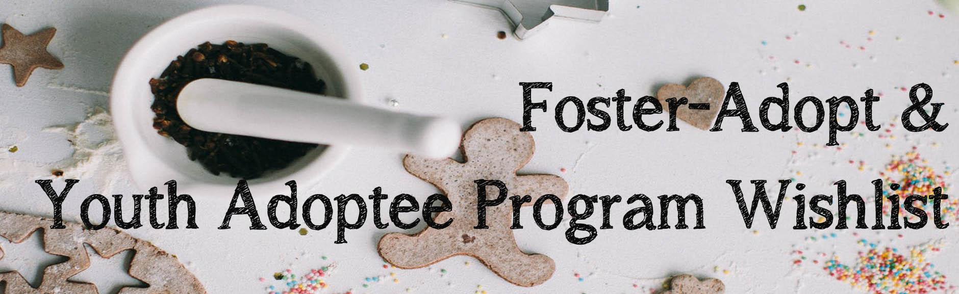 Foster Adopt Wishlist